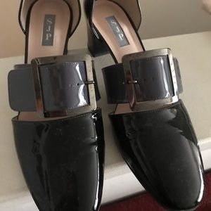 "SJP by Sarah Jessica Parker Shoes - Gently used SJP ""Anahita"" Patent Leather shoes"